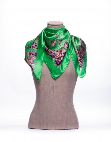Rustic print scarf