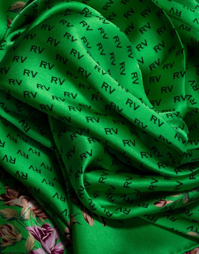 Foulard à motif sylvestre