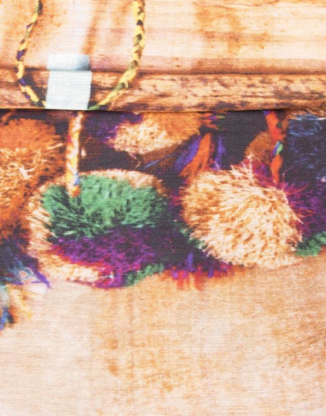Foulard print tejidos