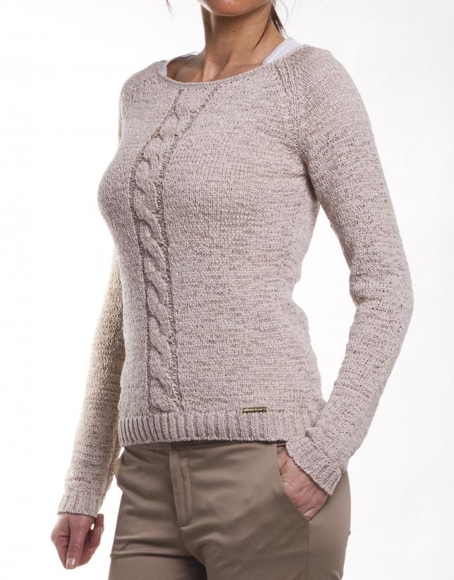 Jersey de algodón manga larga