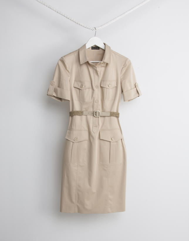 Sandy shirtwaist dress