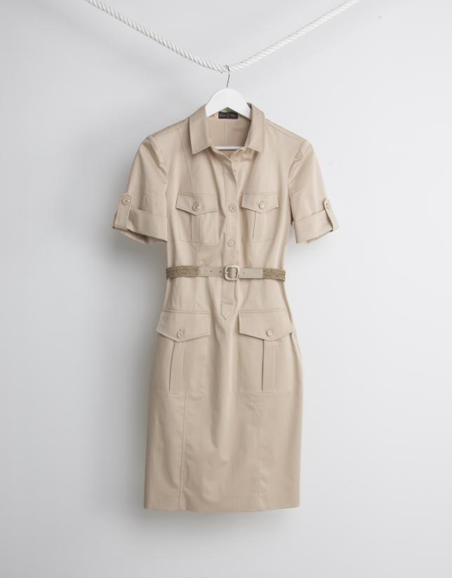 Sandy shirtwaist dress
