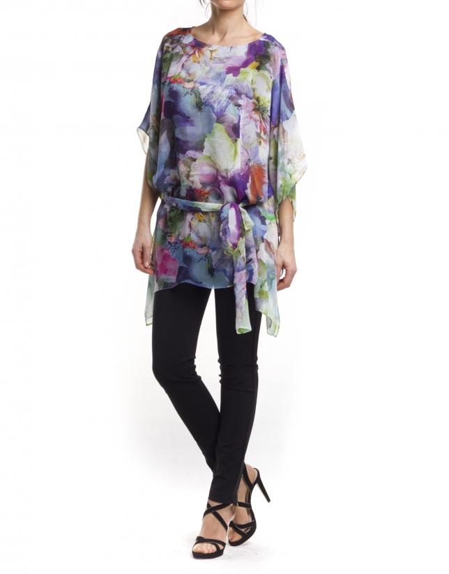 Kimono sleeve blouse