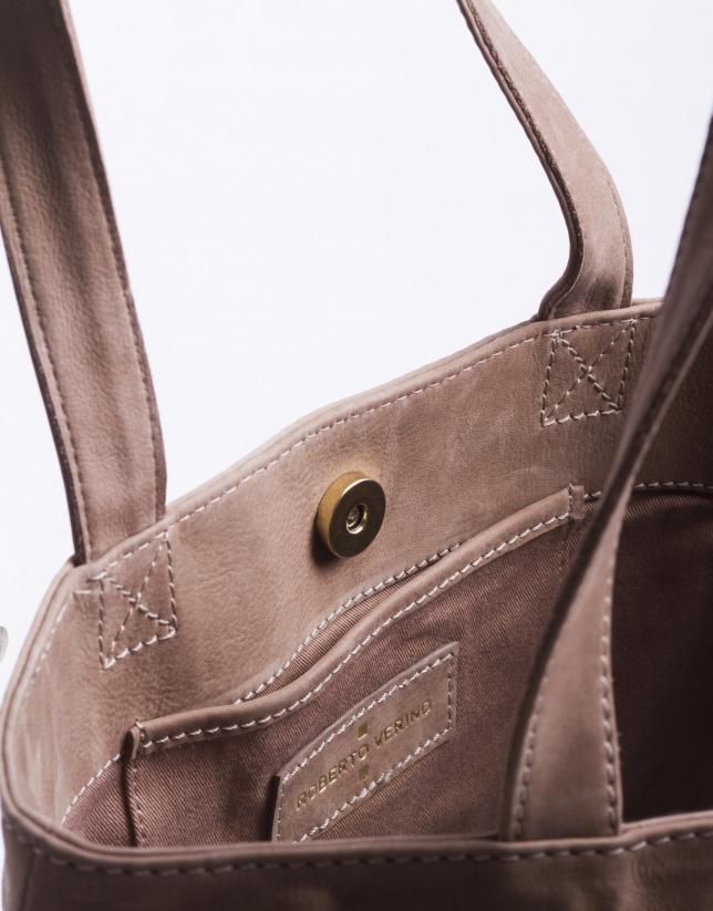 DAISY ARENA:  Nobuck tote bag