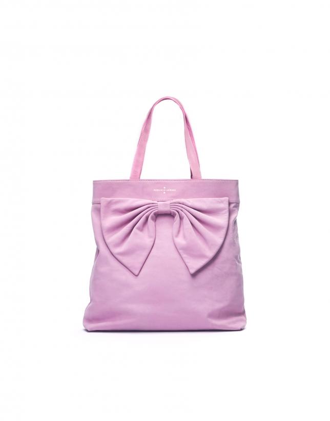 DAISY ROSA:  Nobuck tote bag