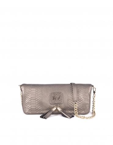 Martina Star metallic silver leather.