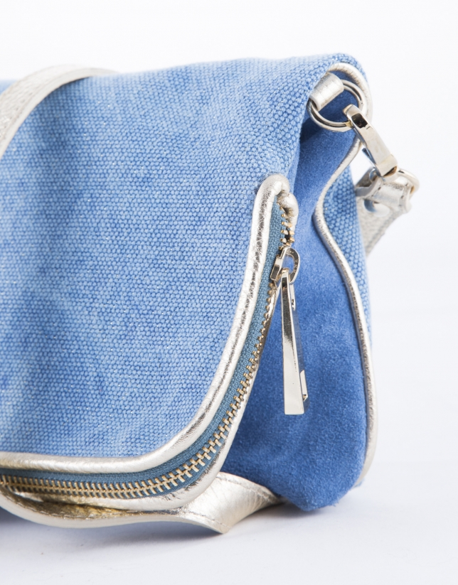 Martina Capri : clutch bleu