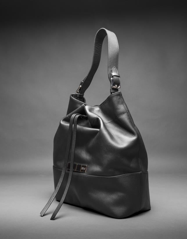 Black napa Adam bag