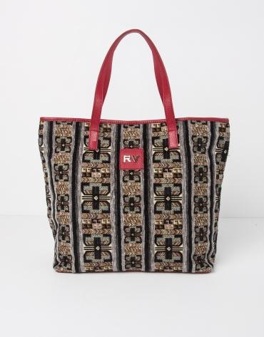 Shopping jacquard y napa