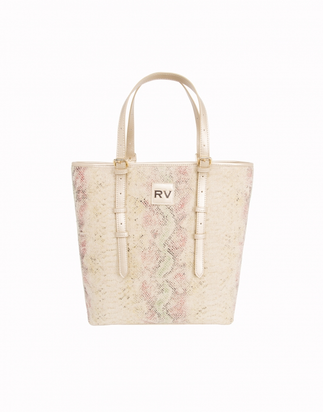 Python print canvas tote bag