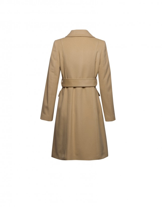 Camel Cloth coat