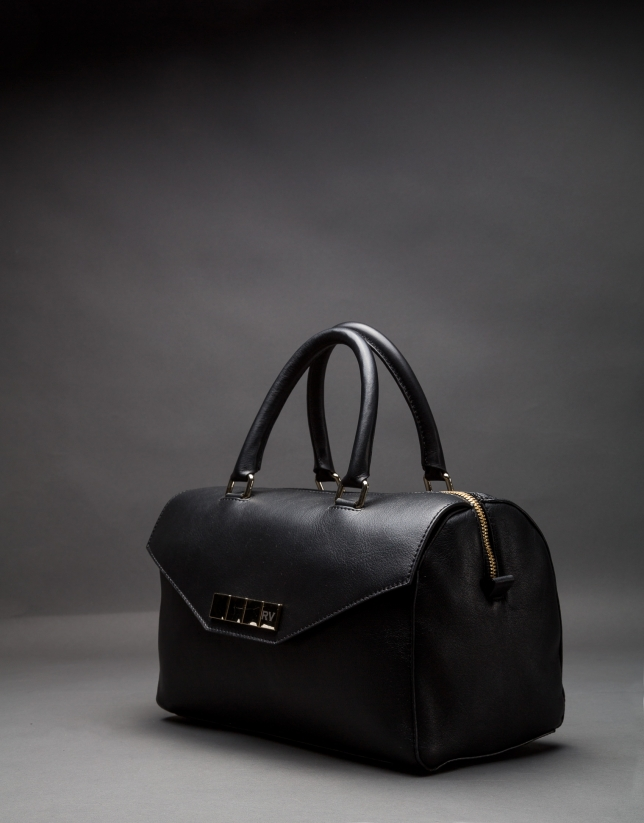 Black napa Carmen bag