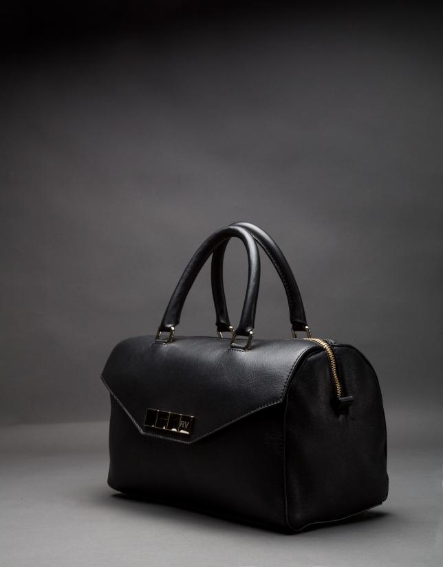 Black napa Carmen bag