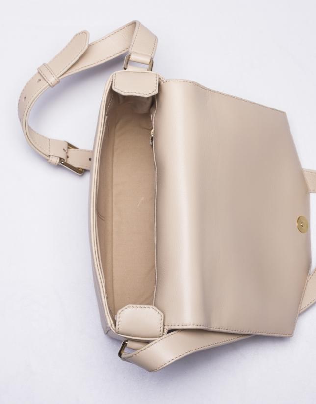 ALICIA CREMA:  Napa shoulder bag