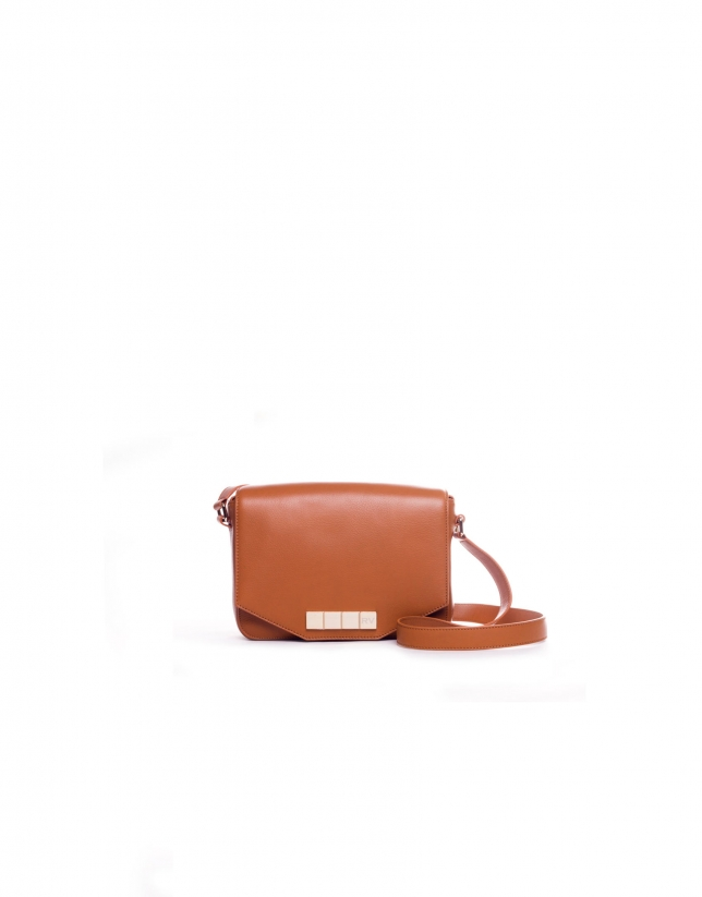 ALICIA CARAMELO:  Napa shoulder bag