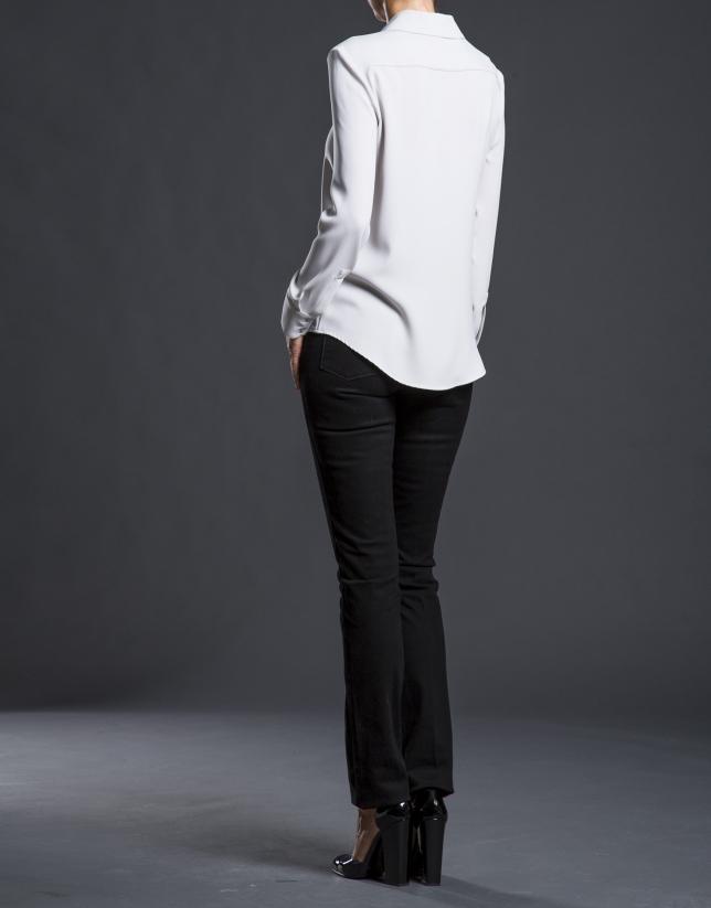 Camisa gris fantasía