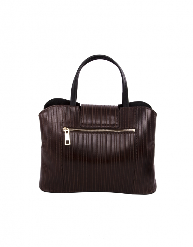 Sac Ryan Line marron.