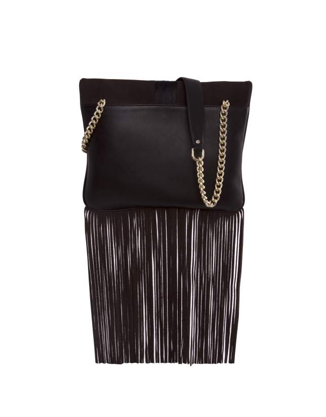 Miranda Wind brown bag with fringe