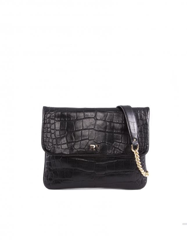Miranda For Ever bright black leather
