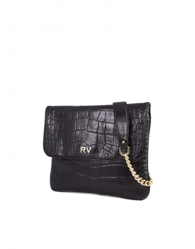 Sac Miranda For Ever en cuir vachette noir