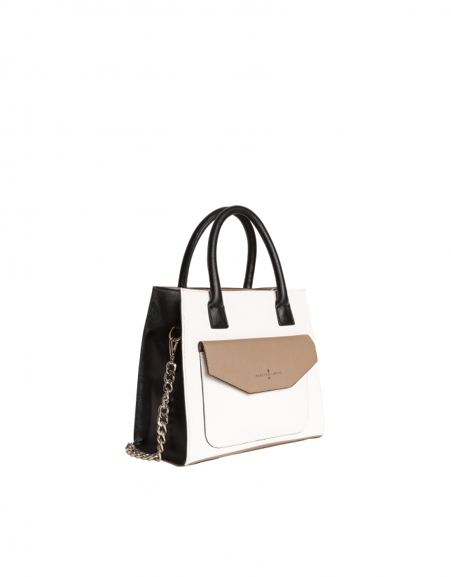Sac Satchel color block