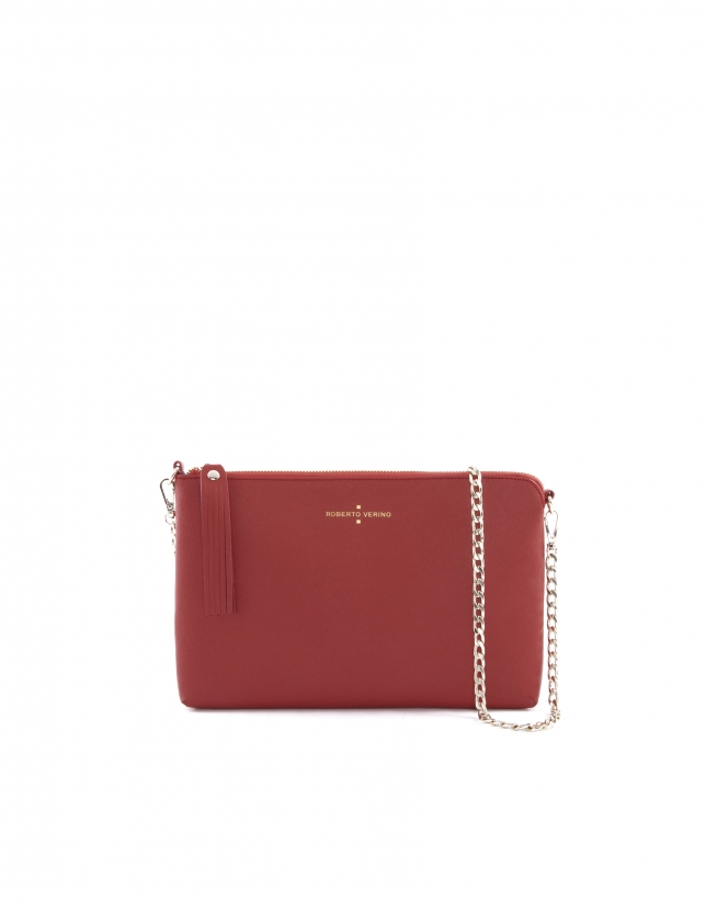 Bolso Clutch Lisa rojo