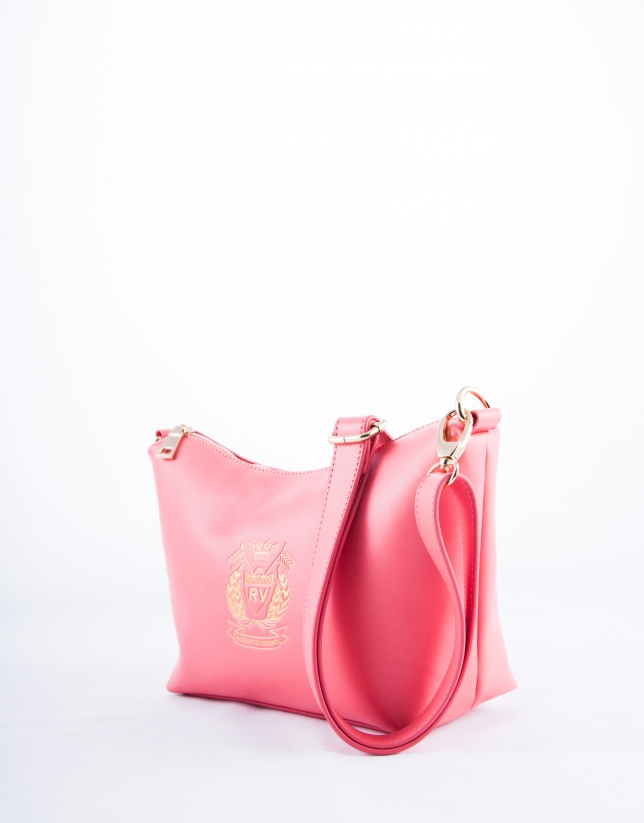 Pink  two piece Vera shopping bag
