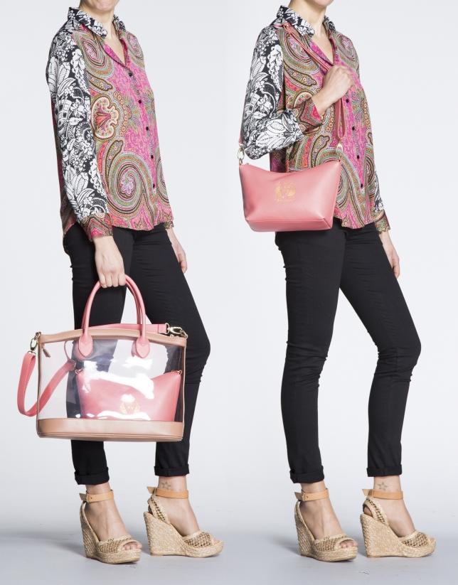 Bolso Shopping Vera dos piezas