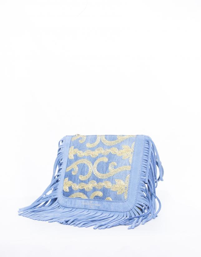 Bolso Bandolera Sara Capri azul
