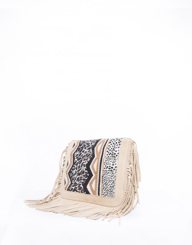 Sara Kenia : sac bandoulière couleur camel