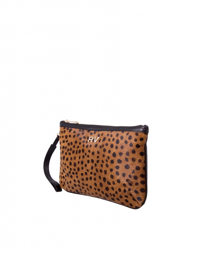 Bolso Clutch Audry Dots pelo