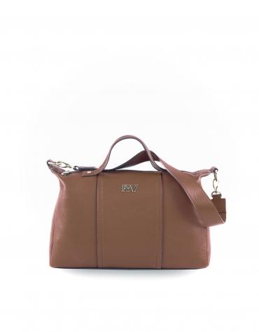Samuel tobacco leather bag