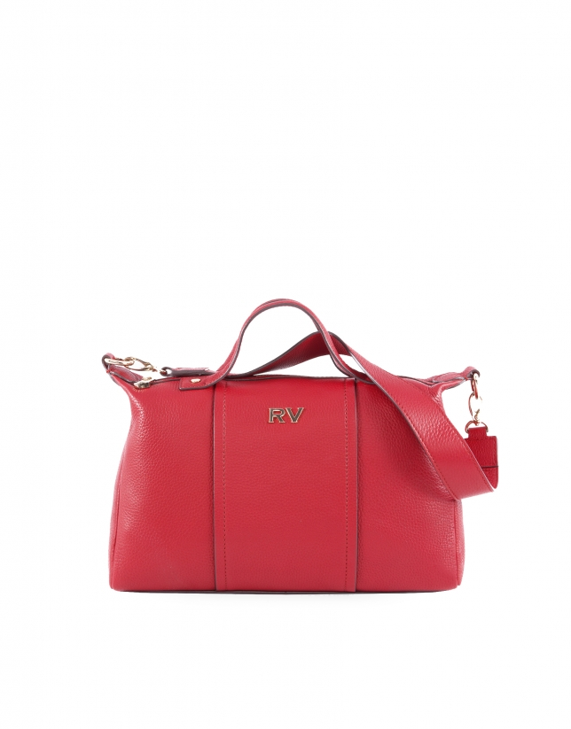 Samuel red leather bag
