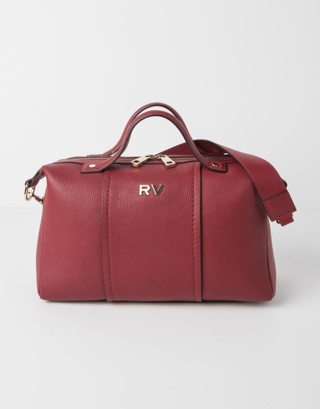 Red bowling bag