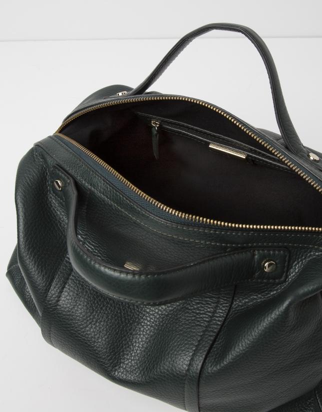 Green bowling bag