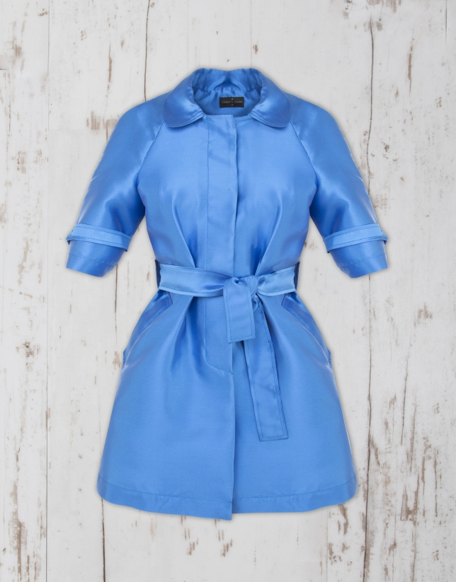 Trench azul