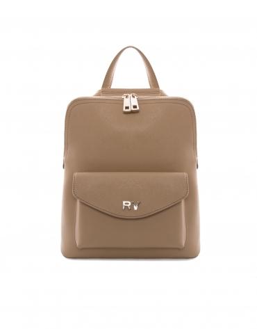 Bolso mochila Aury beige