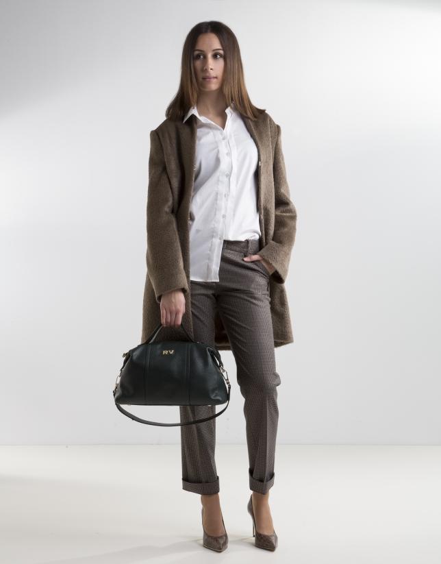 Manteau marron
