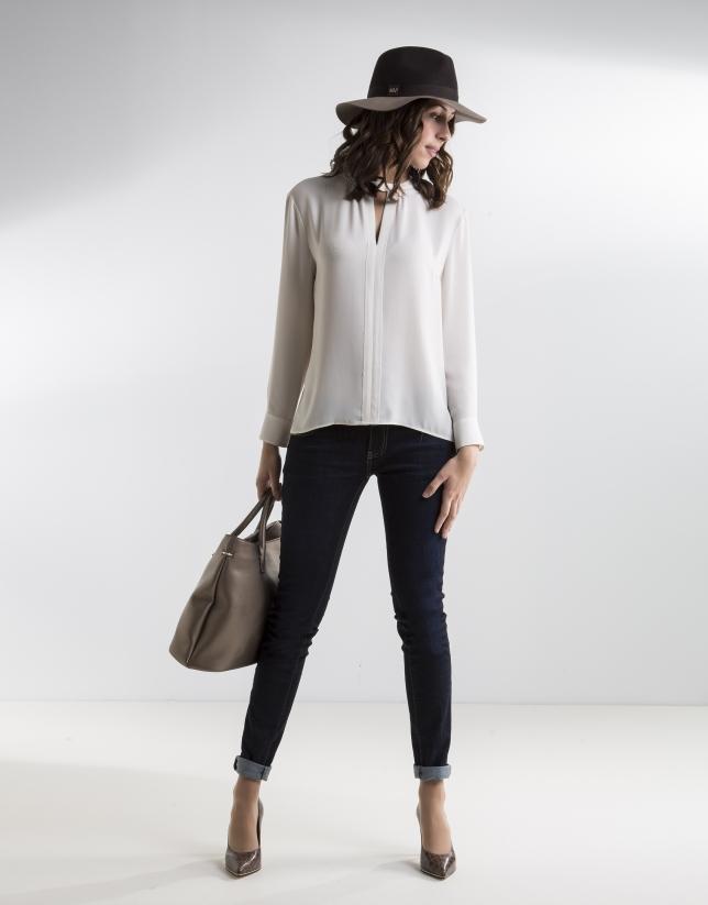 Blusa beige