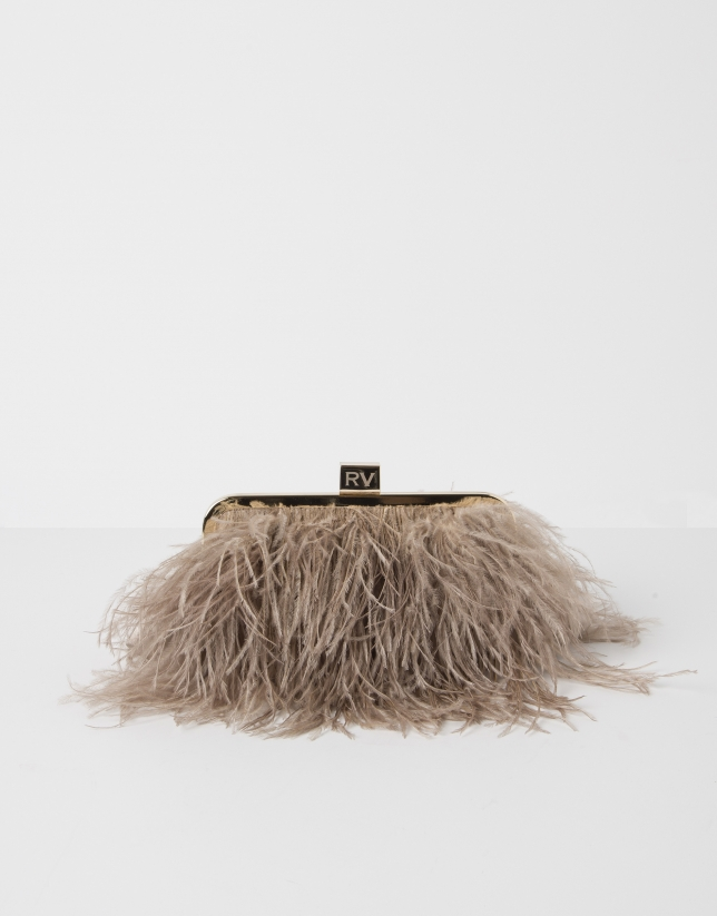 Royal feather bag