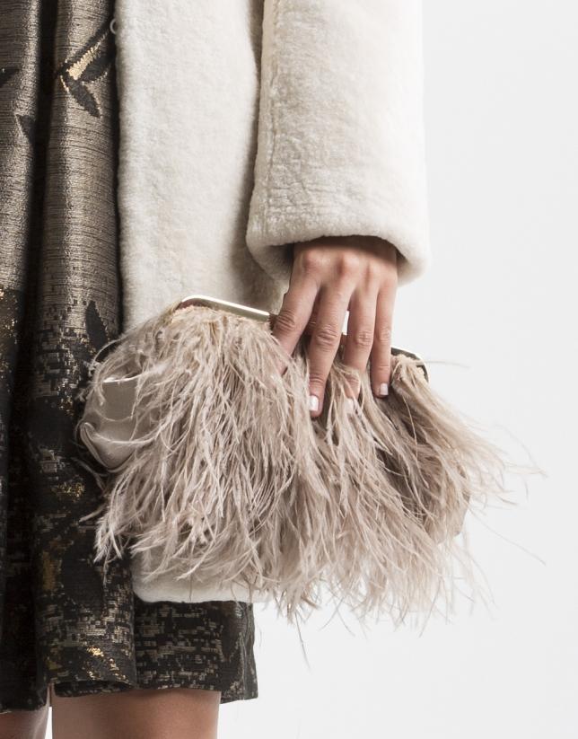 Royal feather bag