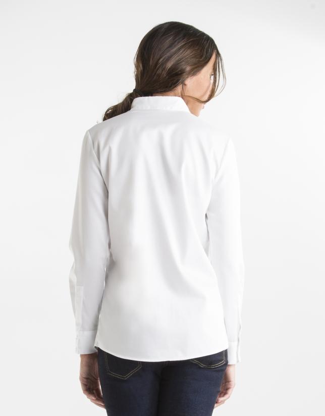 Chemise blanche en coton