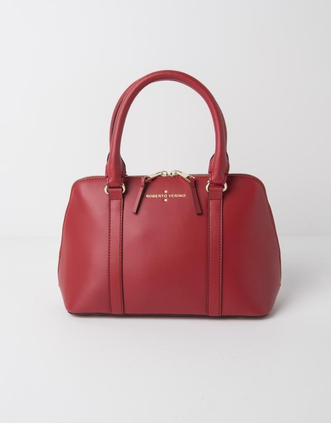 Mini sac  Tote rouge