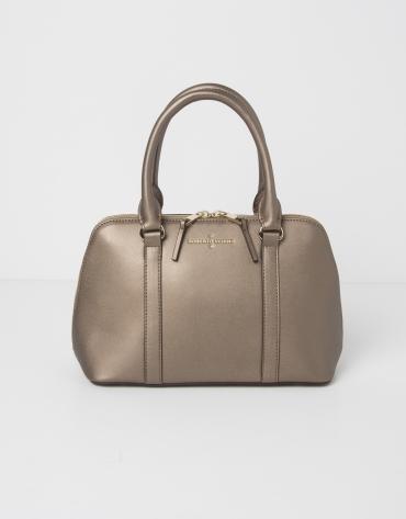Mini sac  Tote couleur bronze
