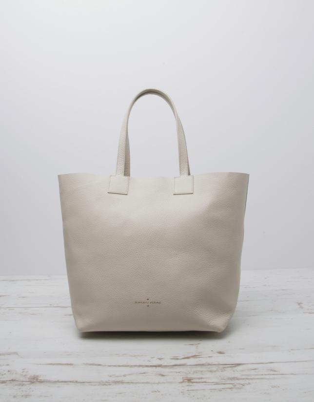 White Uve shopping bag