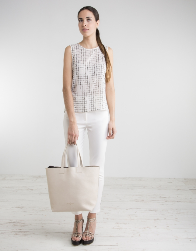 Bolso Uve shopping blanco