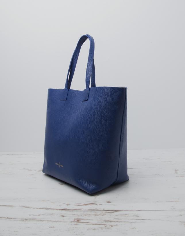 Blue Uve shopping bag