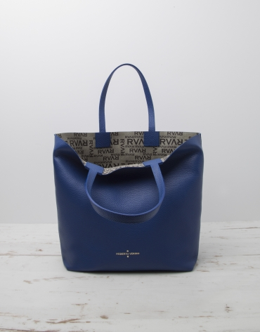 Blue Uve shopping bag