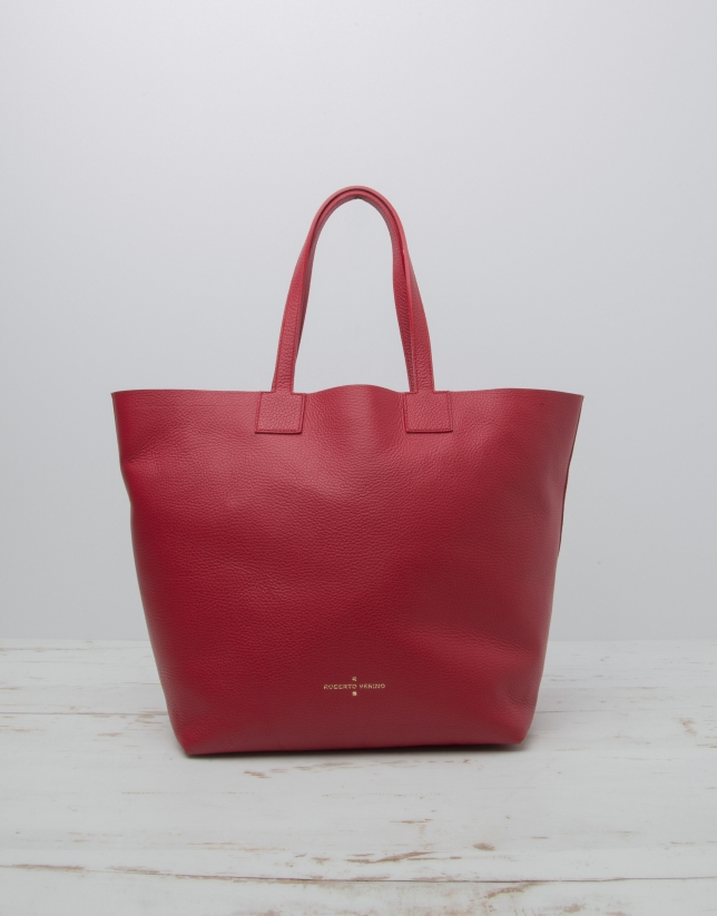 Bolso Uve shopping rojo