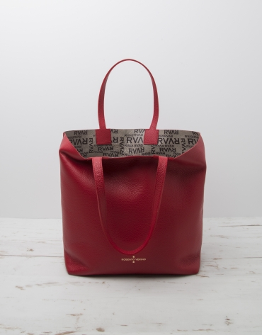 Red Uve shopping bag